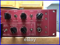 Langevin Manley Labs DVC Dual Vocal Combo MIC Preamplifier Eq Limiter DI Clean