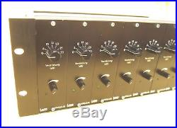 Lawo 8 Channel Micpre Rack 44dB 48V NEVE SOUND