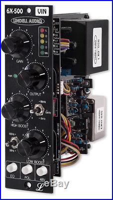 Lindell 6X500VIN 500 Series Preamp