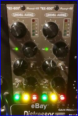 Lindell Audio 6X-500 Preamp with hi-lo pultec EQ