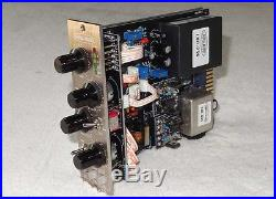 Lindell Audio 6x-500 Mic Pre with2x Pultec EQs for API 500-Series, with990 Opamps