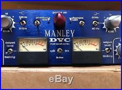 MANLEY DVC Dual Vocal Combo PREAMP EQ COMPRESSOR LIMITER (NEVE SSL LIKE) DE
