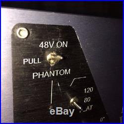 MANLEY VOXBOX Channel Strip Mic Pre Compressor EQ