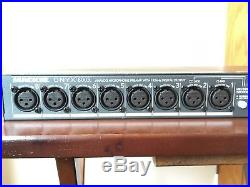Mackie Onyx 800r, 8Channel Preamp with 192k ADAT, ImpSelect, 2 DI's, like Octopre