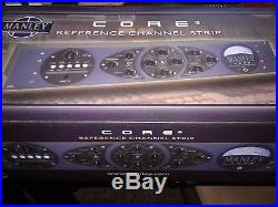 Manley CORE Reference Channel Strip. Packaged open but never been used