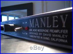 Manley Dual Mic Pre