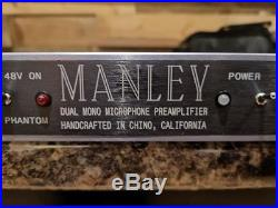 Manley Dual Mono Microphone Preamp