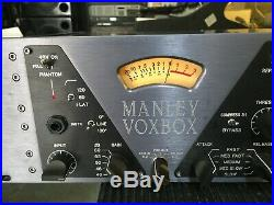Manley Labs VOXBOX Combo Microphone Preamp, PRE AMP used item //ARMENS//