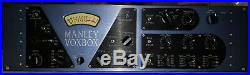 Manley Labs Voxbox Tube Preamplifier Channel Strip withCompression & EQ Vox Box
