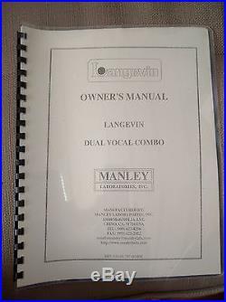 Manley Langevin Dual Vocal Combo