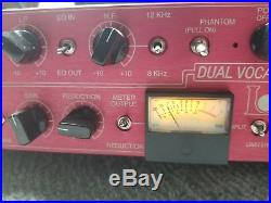 Manley Langevin Dual Vocal Combo Channel Strip (Mic Preamp + EQ + Compressor)