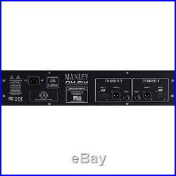Manley Nu Mu Dual-channel Tube/Solid-state Limiter/Compressor NEW