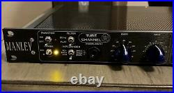 Manley TNT Tube/Solid State 2-Channel Microphone Preamplifier