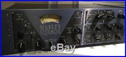 Manley VOXBOX Channel Strip Class A Mic Pre, EQ, Comp, Limiter/De-esser