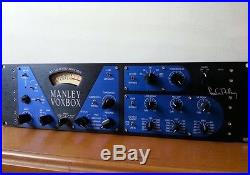 Manley VOXBOX Channel Strip with Class A Microphone Preamplifie