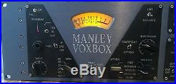 Manley Voxbox all-tube channel strip
