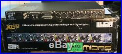 Midas XL48 8-Channel XL4 1RU-analog in 96khz out! Mic pre, These sound sweet
