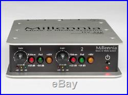 Millennia HV-32P Portable 2-Channel Solid State Microphone Preamp