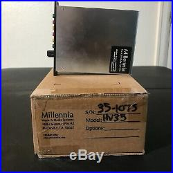 Millennia HV-35 500 Series High Gain Mic Preamp DI with High pass Filter And Pad