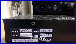 Millennia Media Quad Preamp & PSU four channel microphone preamplifier QUADPRE