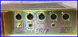 Millennia Media STT-1 mic pre EQ opto comp limiter de-esser channel