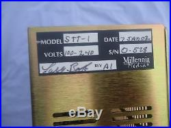 Millennia STT-1 Origin Recording Tube Rack System