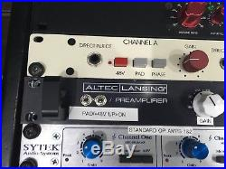 Modded Altec PreAmp 1689A From a clean Neve, API, Chandler, Focusrite studio