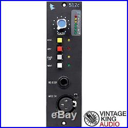 NEW API 512C Single Channel Mic Pre / Microphone Preamp for 500 Series Format