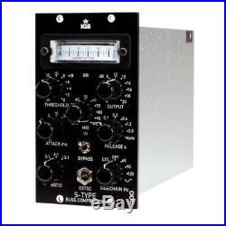 NEW IGS Audio S-Type VU SSL/VCA Type Stereo Mix Bus Compressor (API 500 Series)