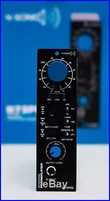 N-SONIC N73PRE 500 Series 1073 Style Microphone Preamp