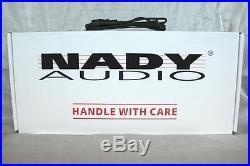 Nady PRA-8 8 Channel 1U Microphone Preamp Mic Pre-Amp