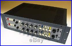 Neotek Series 1 NEW Case for TWO Microphone Preamplifier/EQ Modules from Neotek