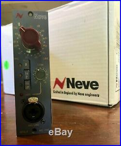 Neve 1073LB Mic Pre 500 Series Lunchbox style
