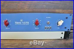 Neve 1073 Style, Dual Channel, Discrete MIC Preamp Clone, Carnhill, Top Shelf