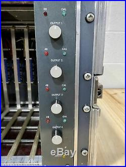 Neve 1081 4 channel rack in road case