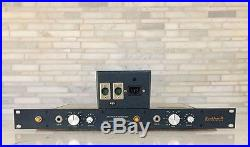 Neve 1272 Preamp Pair racked by Brent Averill
