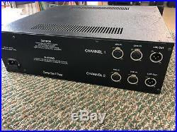 Neve 33114 Mic Pre/ EQ (Pair) Boutique Audio & Design Rack
