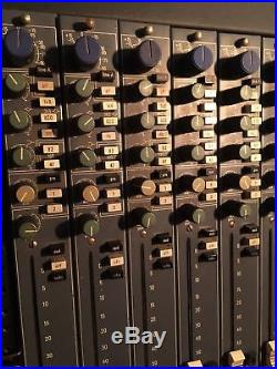 Neve 34128 Channel Strips Preamp From 54 Series Console 5422 5432 5442 5452 5462