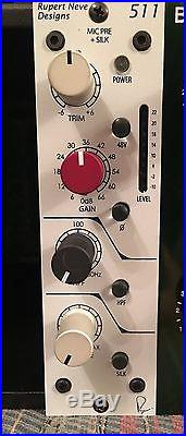 Neve 511 500 series Preamp with silk