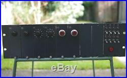 Neve 6 channel Vintage Preamp rack 1272/1271