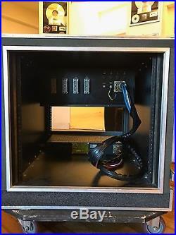Neve Prism Rack 10-Ch Modular Unit 5X Preamp/Compressor 5X Eq With Case