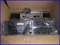 New Manley Labs VOXBOX Combo Mic Preamp + Compressor, EQ, and DeEsser
