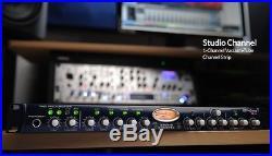 New PreSonus Studio Channel Single 1 Channel Tube Strip Mic Preamp Comp EQ