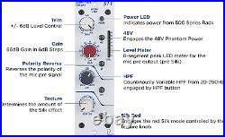 New Rupert Neve Designs Portico 511 Mic Preamp 500-Series Module + Bobblehead