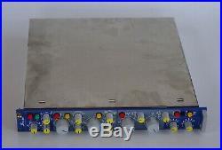 ORIGINAL Focusrite ISA 110 MICROPHONE PREAMP EQUALIZER neve VTG AUDIO EQ MIC