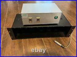 Old School Audio OSA 11 Space Slot 500 Series Power Rack Chassis External PSU