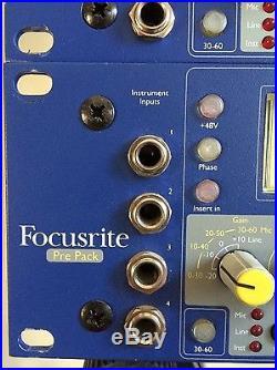 Original Focusrite 428 PrePack with Analog/ Digital Card installed