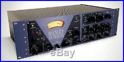 Original Manley Labs Voxbox Tube Preamplifier Channel Strip With Compression EQ