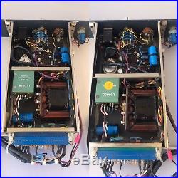 Original pair of NEVE 1272 mic preamp Racked In Brent Averill Xlr / D. I. In 48V