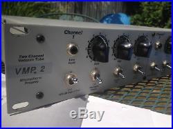 PEAVEY VMP-2 mic pre amplifier, all tube, NO transistor, vmp2 (FREE SHIPPING)
